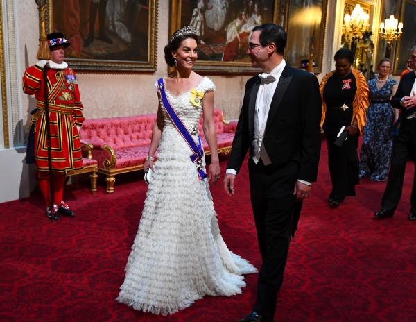 Duchess Kate goes all out for state dinner with the Trumps
