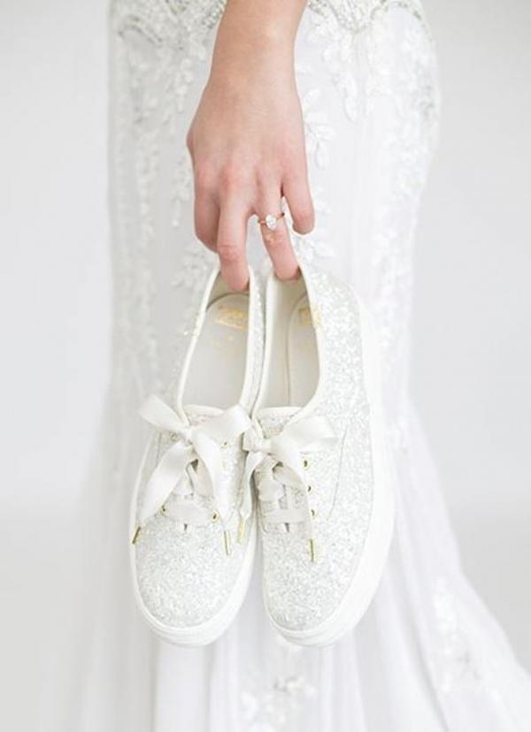 Forget uncomfortable heels, Kate Spade launched comfy wedding ...