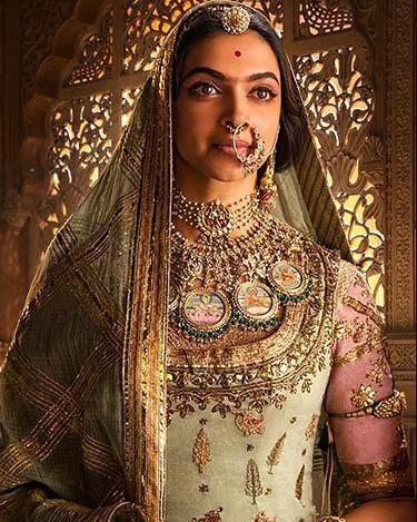 Image result for pictures of the Padmavati doll are available on social media.