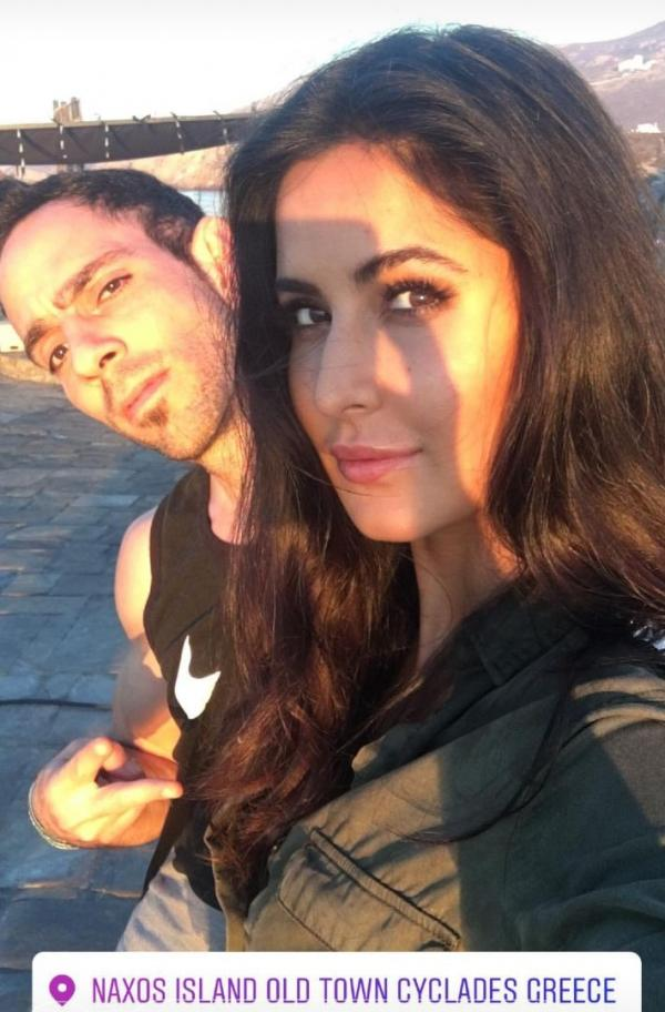 Photo Alert Katrina Kaif Looks Enigmatic On The Sets Of Tiger Zinda