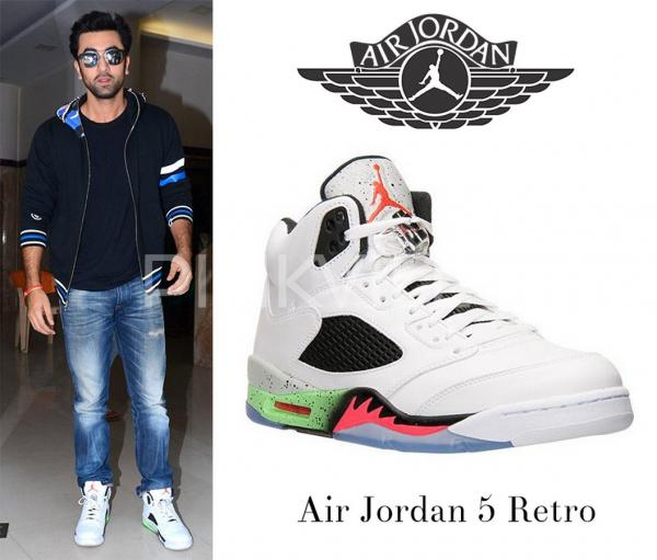 10 sneakers owned by Ranbir Kapoor you would want to steal right now |  PINKVILLA