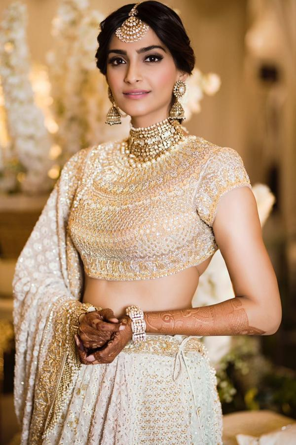 Sonam Kapoor decked up for her Sangeet Ceremony