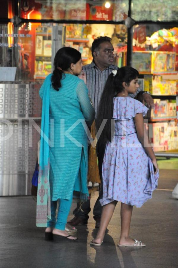 Sridevi S Sister Srilatha Gets Snapped At The Airport