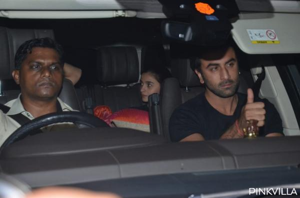 Alia Bhatt, Ranbir Kapoor, Sidharth Malhotra party at Karan Johar's house