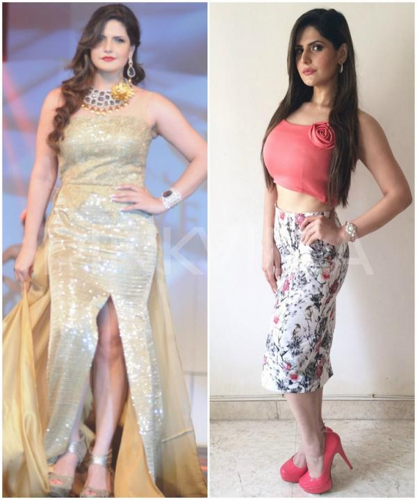 Katrina to sonam 11 jaw dropping transformations that grabbed zareen created a buzz amongst movie buffs when she shed weight and flaunted her lean avatar to the fullest ccuart Image collections