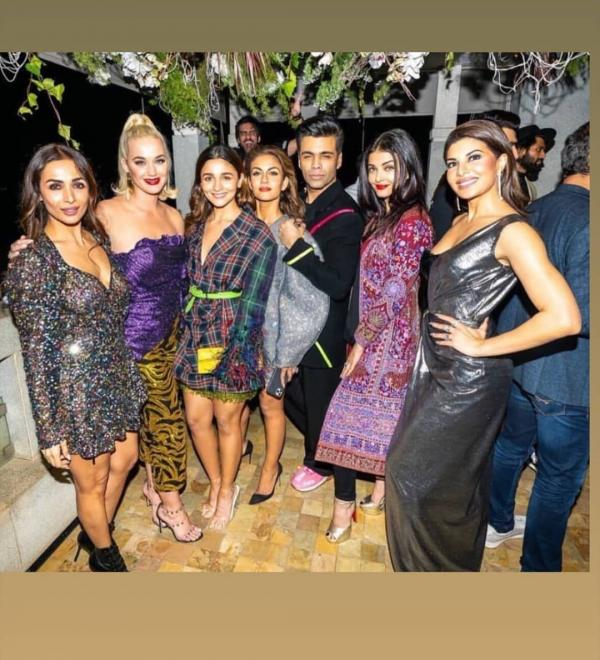Katy Perry parties with Karan Johar, Aishwarya, Alia and more