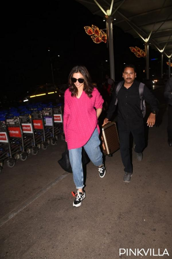 PHOTOS: Deepika Padukone opts for a cool airport look as ...