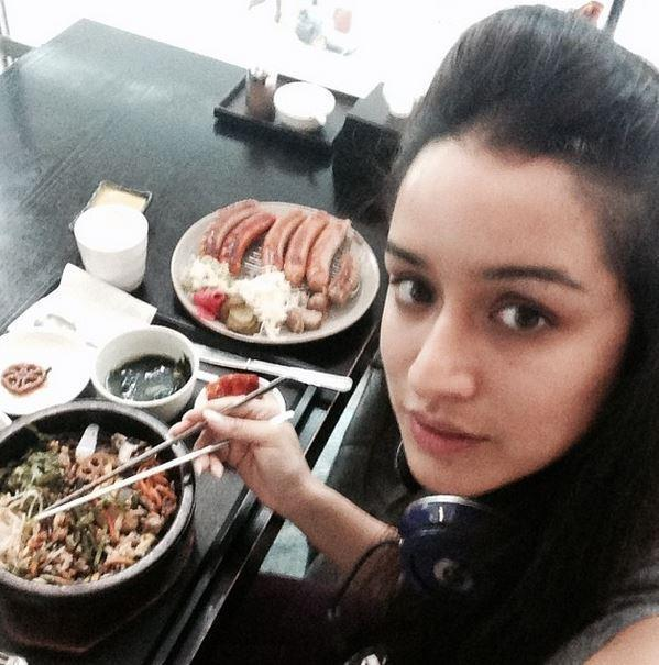 Image result for shraddha kapooreating