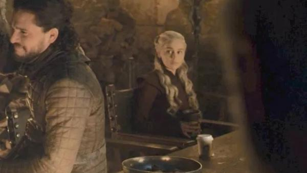 Game of Thrones coffee cup suspect reacts to Emilia Clarke's accusation