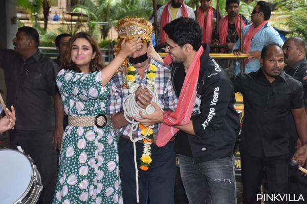 Sidharth Malhotra and Parineeti Chopra launch the trailer of Jabariya Jodi