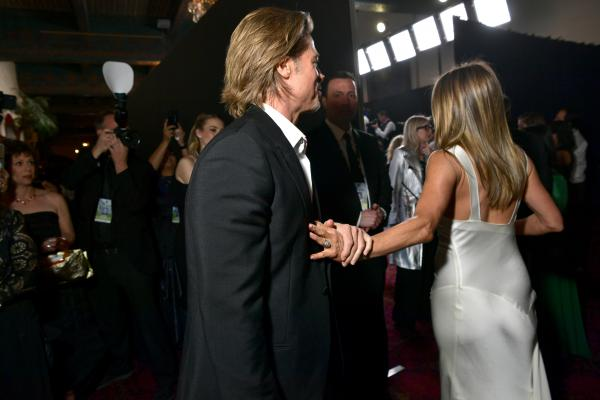 Brad Pitt admits he isn't really on Tinder after all