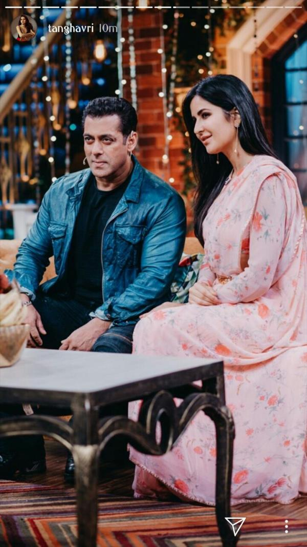 Salman Khan And Katrina Kaif Graced The Stage Of 'The Kapil Sharma