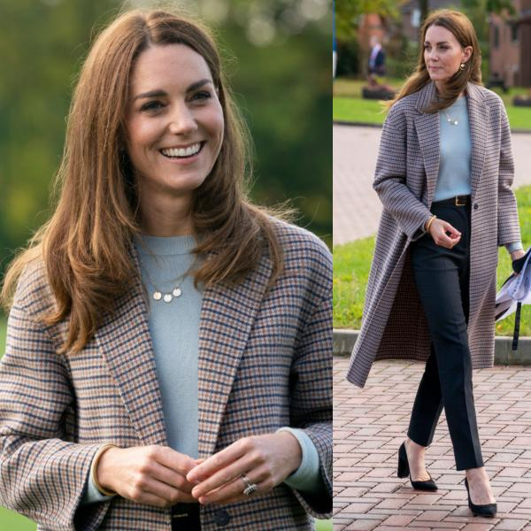 Kate Middleton Chats With Students About COVID-19's Mental Health Impact