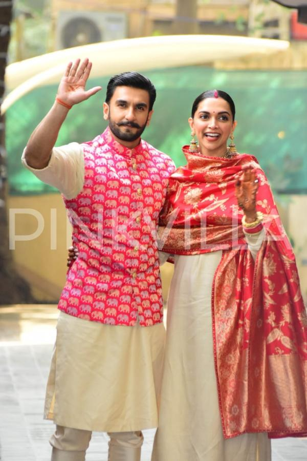 PHOTOS: Newly weds Ranveer Singh and Deepika Padukone ...