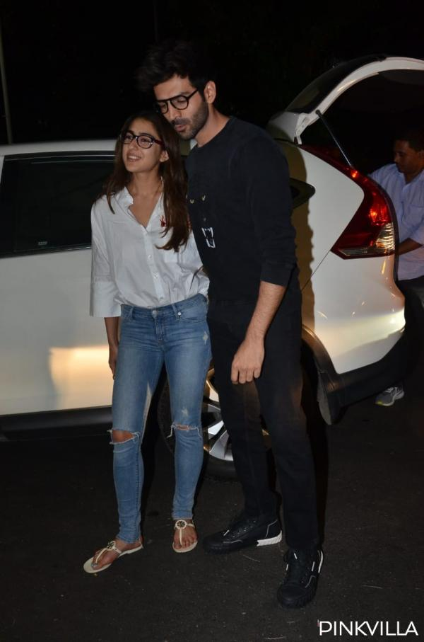 whatsapp_image_2020-02-04_at_10.02.44_pm PHOTOS: Love Aaj Kal actors Sara Ali Khan & Kartik Aaryan twin in nerdy appears to be like as they arrive on the airport