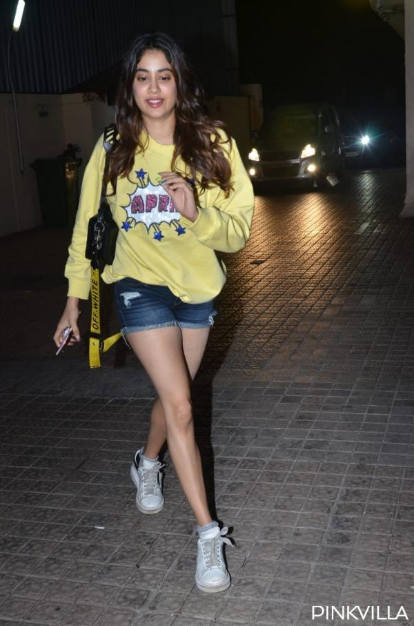 PHOTOS: Janhvi Kapoor is April ready as she sports a