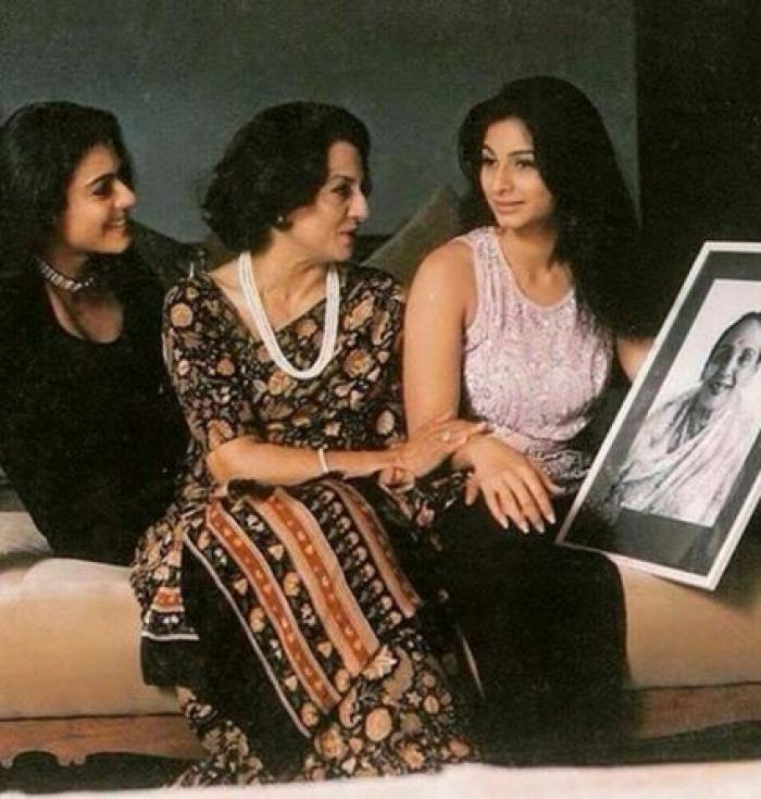 This Vintage Pic of Kajol, Tanisha and Tanuja Is Apt For a Women's ...