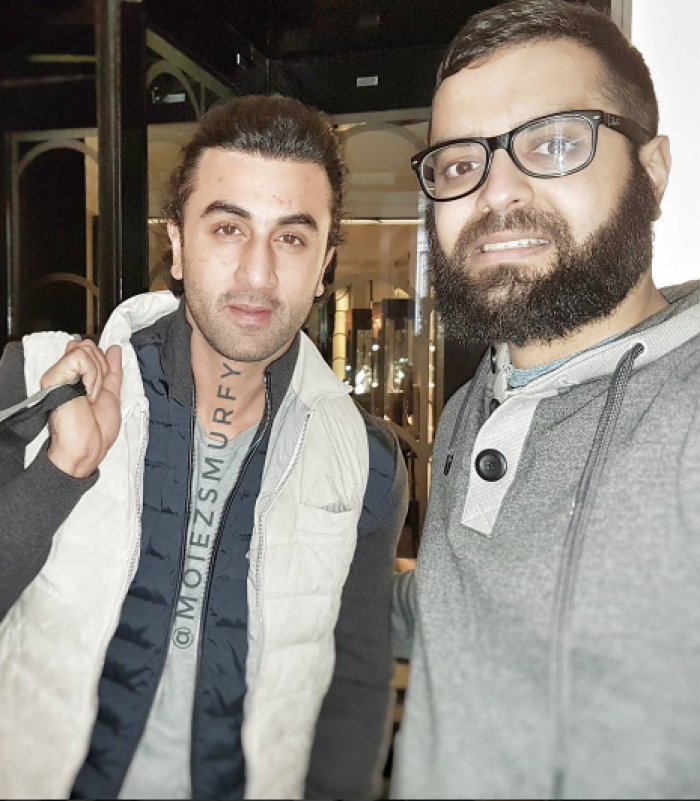 Ranbir kapoor sports a new look in london check it out pinkvilla pmusecretfo Images