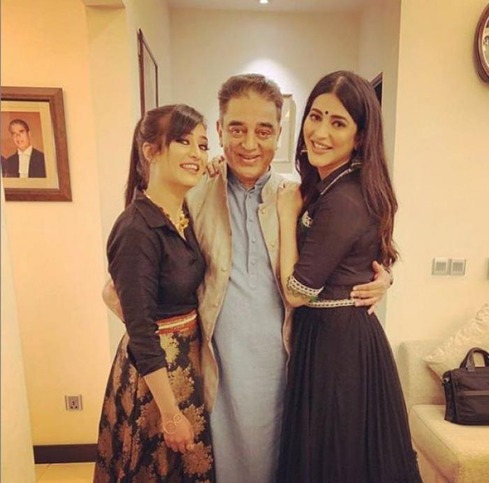 This Video Of Shruti Haasan Jamming With Father Kamal: Shruti K Haasan Family