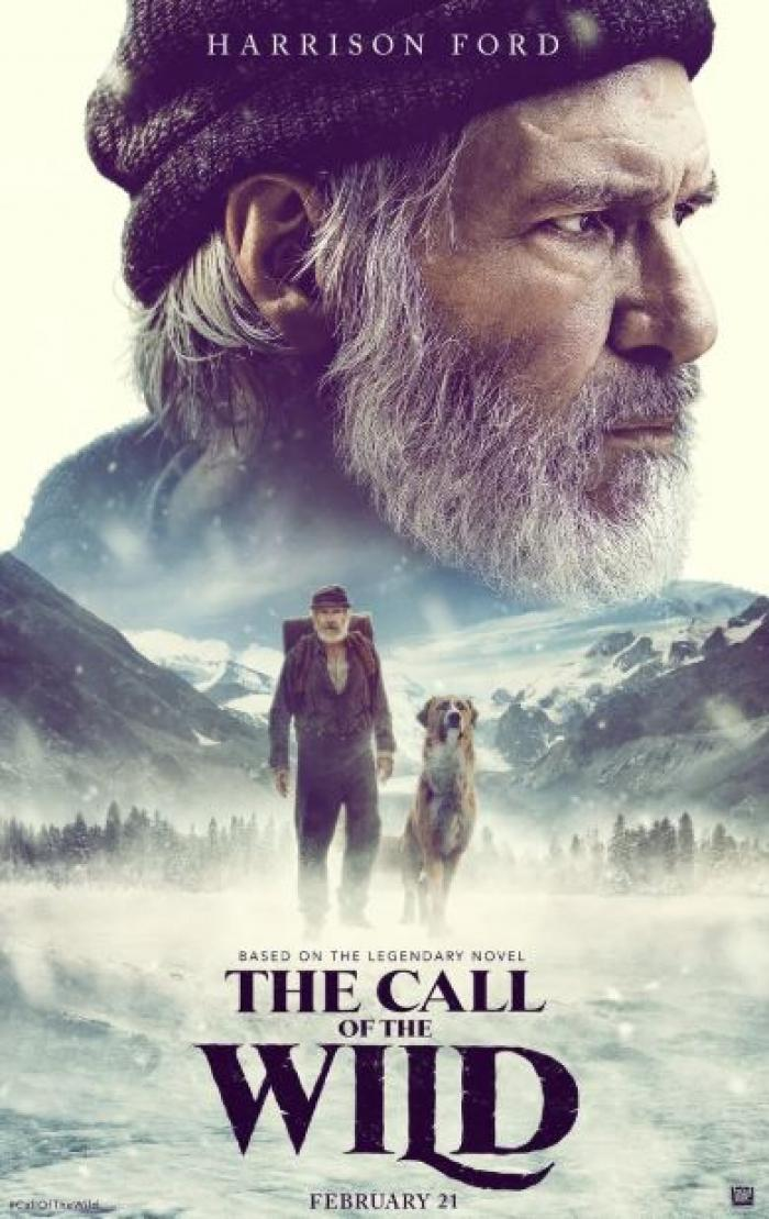 The Call of the Wild Trailer brings Harrison Ford with a CGI Dog; WATCH