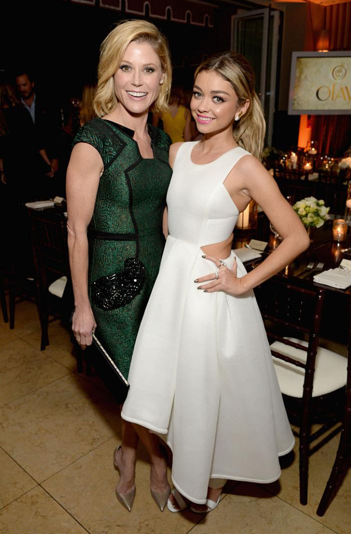 Modern Family's Julie Bowen 'can't wait' for her onscreen daughter Sarah Hyland's wedding to Wells Adams