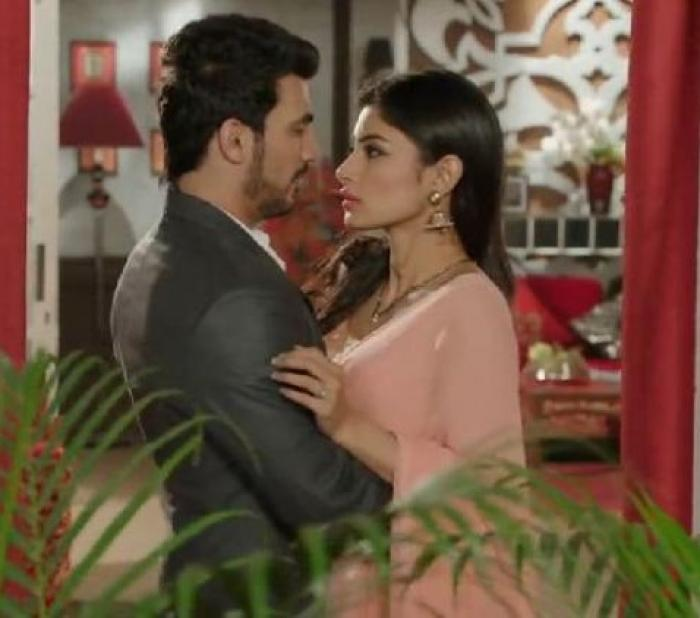 Naagin reunion: Mouni Roy and Arjun Bijlani get romantic on
