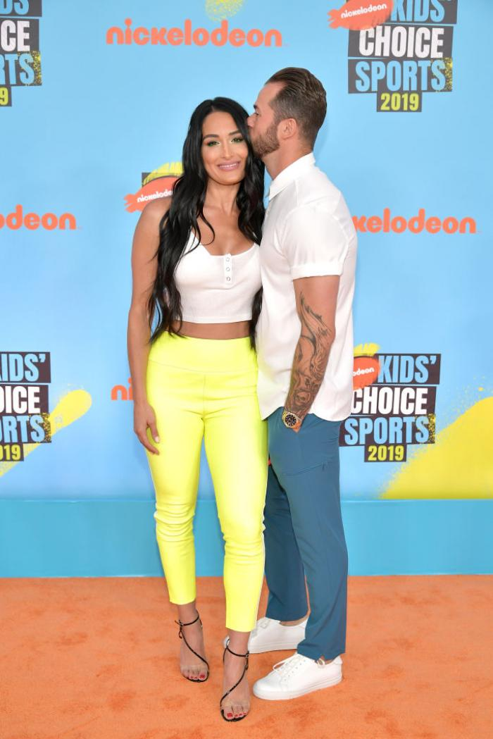 Nikki Bella feels free of insecurities with boyfriend Artem Chigvintsev; says he just loves every part of her
