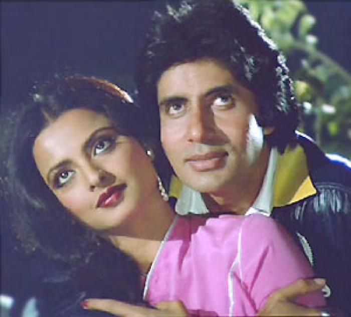 Image result for rekha and amitabh