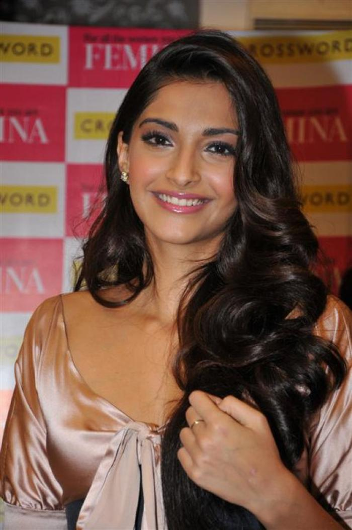 sonam kapoor launches the best of femina cover | pinkvilla