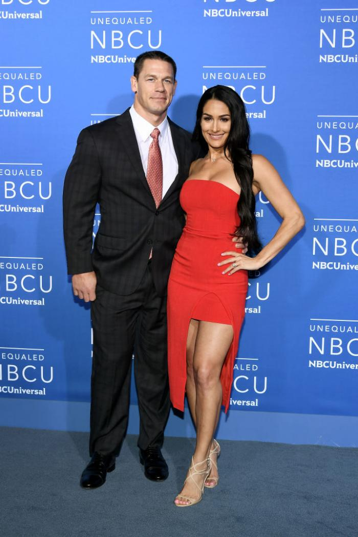 Wwe Nikki Bella Reacts To If She Would Go On A Double Date With Ex Boyfriend John Cena And Shay Shariatzadeh Pinkvilla