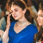 Alia Bhatt wells up as she attends her BFF's wedding and looks adorable; see pic