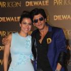 DDLJ duo Shah Rukh Khan & Kajol had the most hilarious response when asked about Nysa eloping with Aryan