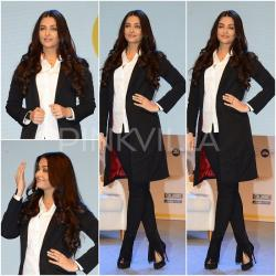 Yay or Nay : Aishwarya Rai's monochrome outfit for 'ADHM' promotions