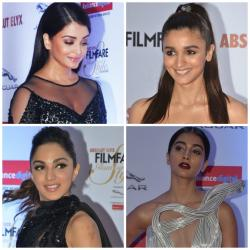 Here is a makeup breakdown of the best beauty looks spotted at Filmfare Glamour & Style Awards