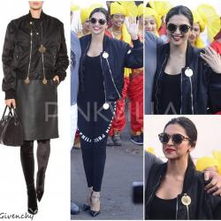 Yay or Nay : Deepika Padukone in Philipp Plein and Givenchy