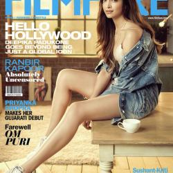 Simply the Best! Deepika Padukone raises the hotness quotient on the latest issue of Filmfare
