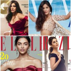 Here is a compilation of good looking people on magazine covers in December