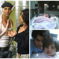 #9YearsofHeyyBabyy: These unseen pics of baby Angel from the movie will make you go aww!