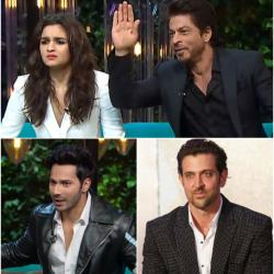 Varun mimicks Hrithik, Alia confesses why she didn't speak on her episode with SRK; KWK 5 was all things young and fresh!