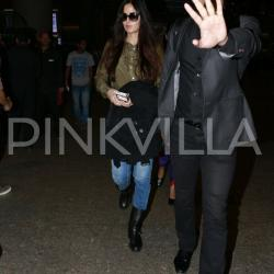 Photos: Katrina Kaif returns from Dubai in style