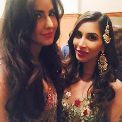 Pilates partner Katrina and Sophie share a selfie from Neil Nitin Mukesh's wedding reception
