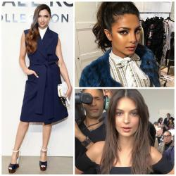 From Priyanka, Deepika to Blake and Bella here is who sat in the front row at NYFW'17 so we can get a good look at their outfits!