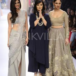 Tamannaah Bhatia walks the ramp for Neeta Lulla!