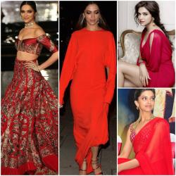 No one does RED better than Deepika Padukone, Here's proof!