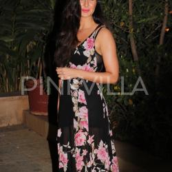 Katrina Kaif stuns in a floral dress at Shahid Kapoor's birthday bash!