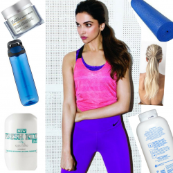 15 must-haves in your gym bag- every girl's gym bag checklist!