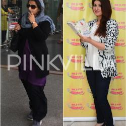 In Pics: Vidya aka Durga Rani spotted at the airport,Twinkle promotes her book at a radio station!