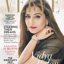 Vidya Balan Looks Gorgeous On The Latest Cover Of Verve!