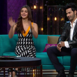 KWK 5 Rapid Fire: Varun considers Big B, Kangana as his competition; Alia thinks Katrina is good at keeping secrets