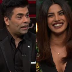Ram is still with Leela: Karan and Priyanka discuss relationships on the KWK couch!